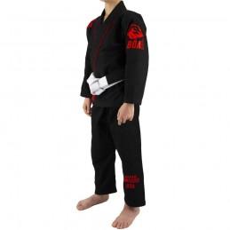 Bjj Gi Kimono Niño Mata Leão - Negro | para clubes sobre tatamis