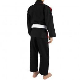 Bjj Gi Kimono Niño Mata Leão - Negro | deportes de combate