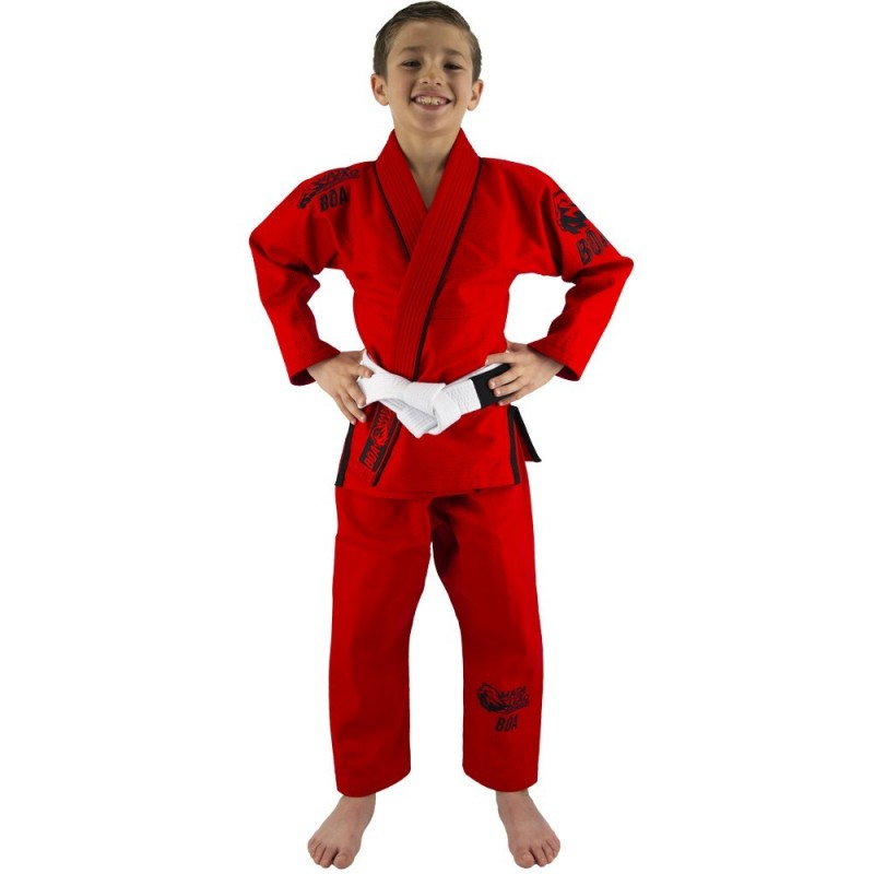 Kimono de JJB enfant Mata Leão - Rouge | arts martiaux