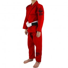 Bjj Gi Kimono Niño Mata Leão - Rojo | para clubes sobre tatamis