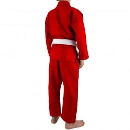 Bjj Gi Kimono Niño Mata Leão - Rojo | deportes de combate