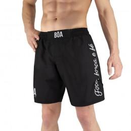 Pantalones mma Bõa Deslumbrante - Negro | de lucha