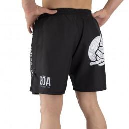 Pantalones mma Bõa Deslumbrante - Negro | Artes marciales
