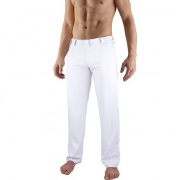 Pantalones de Capoeira Bõa Hombre Tradição - Blanco | abada