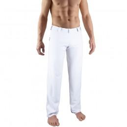 Pantalones de Capoeira Bõa Hombre Tradição - Blanco | berimbau
