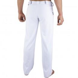 Pantalones de Capoeira Bõa Hombre Tradição - Blanco | la roda