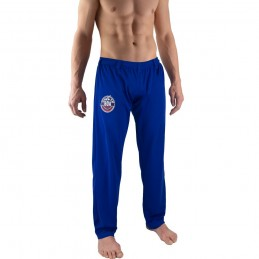 Pantalones de Capoeira Bõa Hombre Arte-Fit - Azul