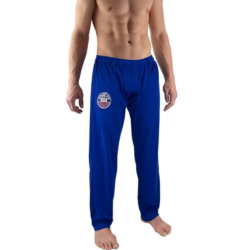 Pantalones de Capoeira Bõa Hombre Arte-Fit - Azul | abada