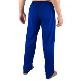 Pantalones de Capoeira Bõa Hombre Arte-Fit - Azul | la roda