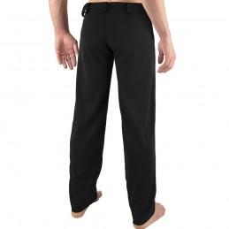 Pantalon de Capoeira Fit homme Arte - Noir | la roda