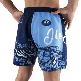 Fight shorts Bõa Rio de Janeiro - Azul | Artes marciales