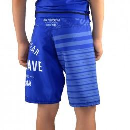 детские боевые шорты напольная игра - синий
