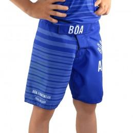 Tenue enfant de NoGi - Jogo no Chão - Bleu | exercice physique