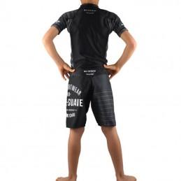 Conjunto de NoGi para niños Jogo No Chão - Negro | Artes marciales