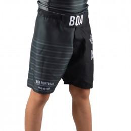 детские боевые шорты наземная игра - чёрный