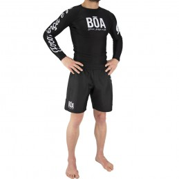 Set Outfit Nogi Grappling Deslumbrante - Black