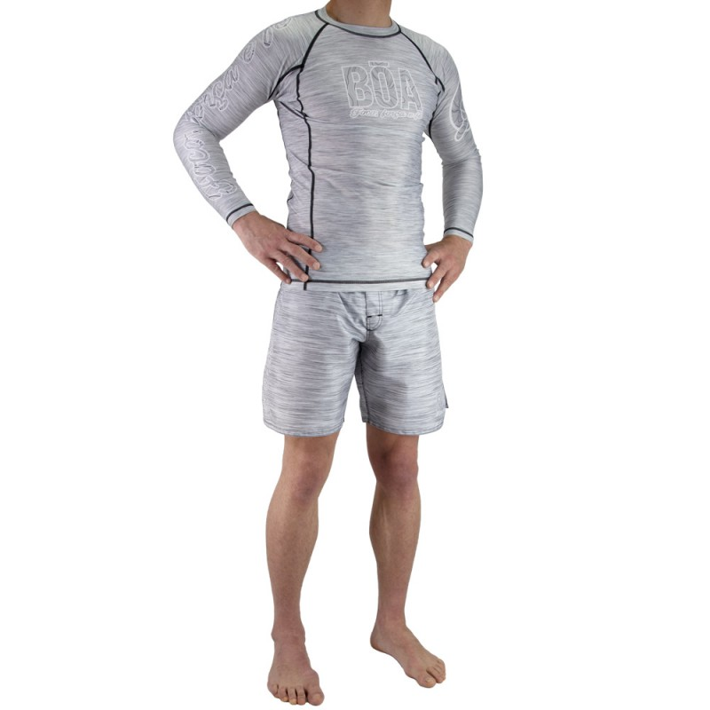 Set Outfit Nogi Grappling Deslumbrante - Grey
