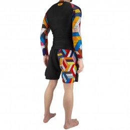 Set Outfit Nogi Capoeira Ginga - Black