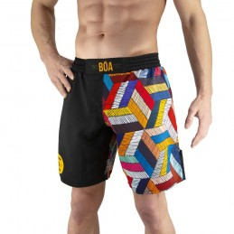 Conjunto de lucha Nogi Capoeira Ginga - Negro   competencia