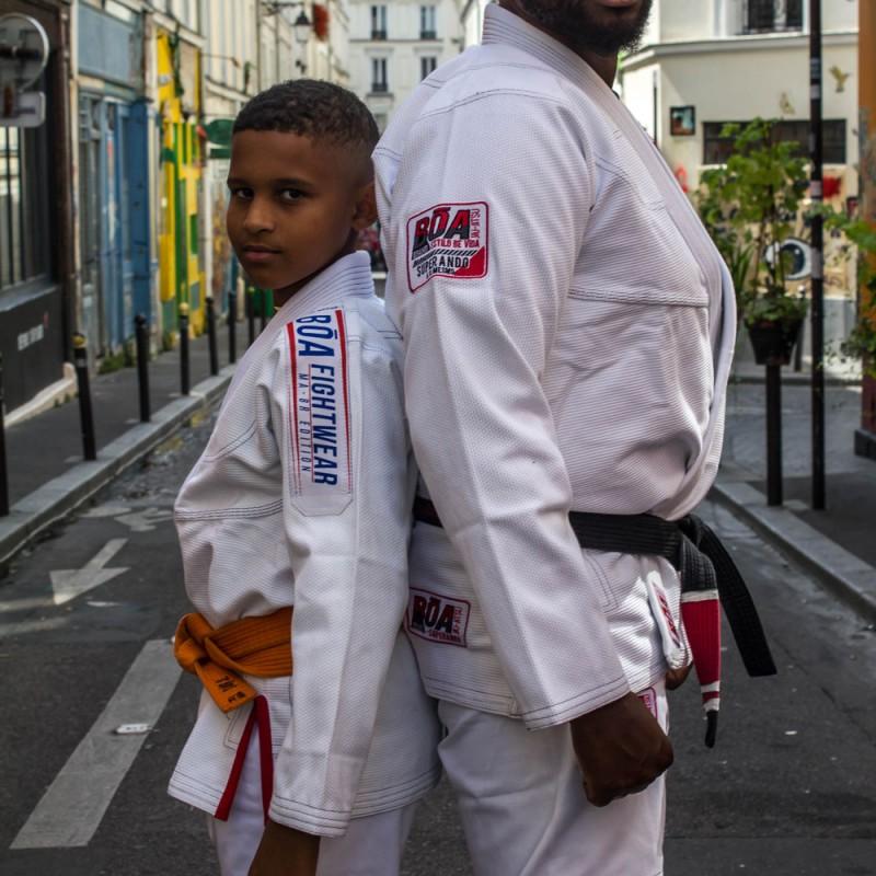 Kimono Jiu-Jitsu brasileño personalizado