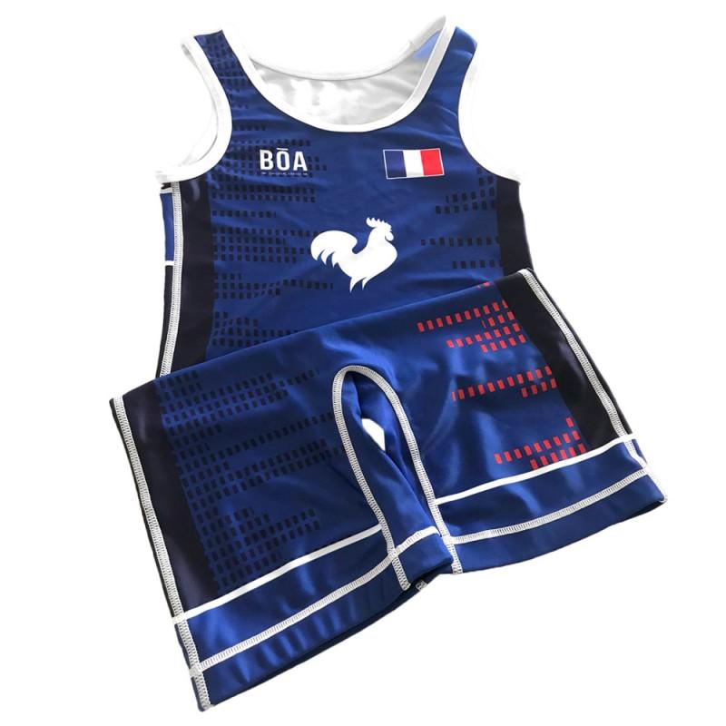 Vestito da wrestling personalizzato