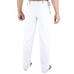 Capoeira Herrenhose Arte-Fit - Weiß | die roda