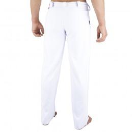 Pantalones de Capoeira Bõa Hombre Arte-Fit - Blanco | la roda