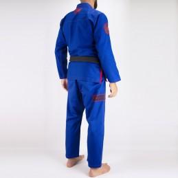 Мужское бжж-кимоно Pronto para batalha - синий | кимоно для клубов бразильского джиу-джитсу