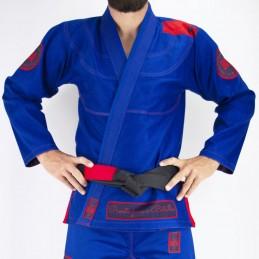Bjj Kimono para Homem Pronto para batalha - Azul | para clubes em tatames