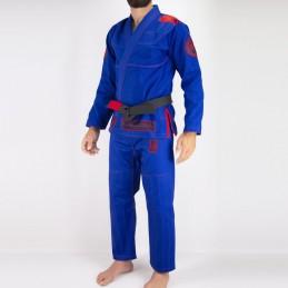 Bjj Kimono para Homem Pronto para batalha - Azul