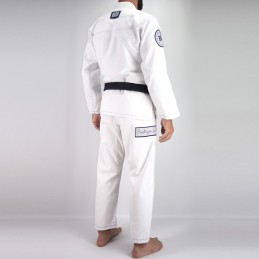 Bjj Kimono para Hombre Pronto para batalha - Blanco | un kimono para los clubes de jiu-jitsu brasileño