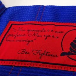 Bjj Kimono para Homem Pronto para batalha - Azul | ideal para combate
