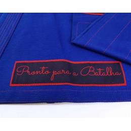 Bjj Kimono para Homem Pronto para batalha - Azul | Boa