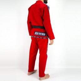 Bjj Kimono para Hombre MA-8R - Rojo | un kimono para los clubes de jiu-jitsu brasileño
