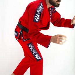 Bjj Kimono para Homem MA-8R - Vermelho | Esportes de combate