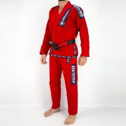 Men's Bjj Kimono MA-8R - Red | the practice of brazilian jiu-jitsu