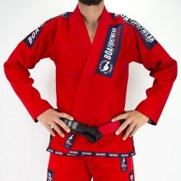 Herren Bjj Kimono MA-8R - Rot | für Clubs auf Tatami-Matten
