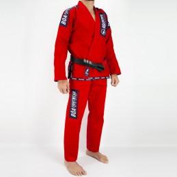 Bjj Kimono para Homem MA-8R - Vermelho