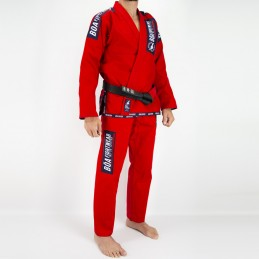 Men's Bjj Kimono MA-8R - Red | Martial Arts