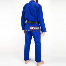 Мужское бжж-кимоно MA-8R - синее   кимоно для клубов бразильского джиу-джитсу