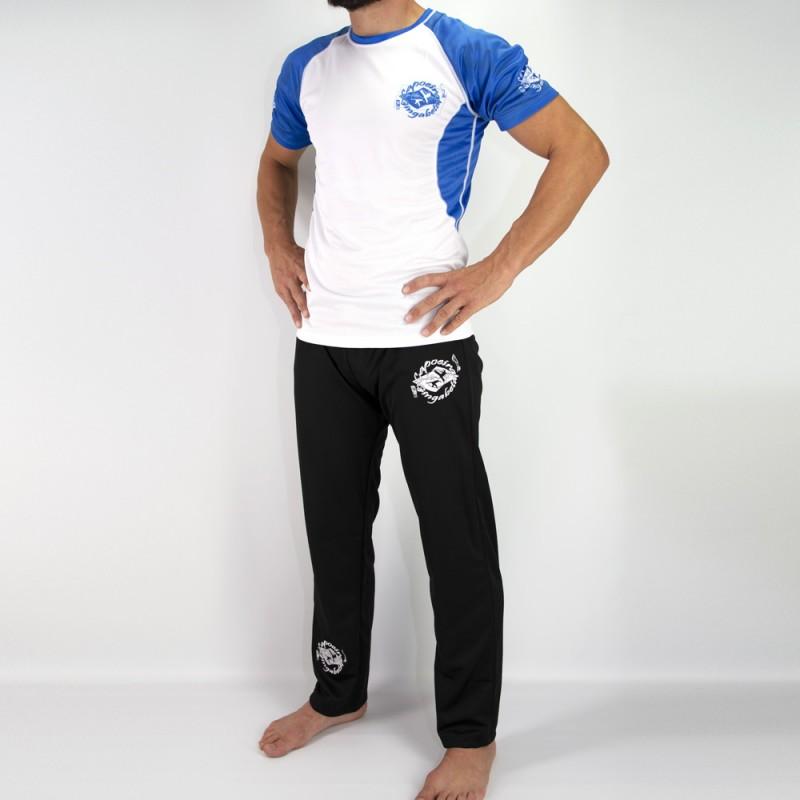 Camiseta respirável e Abada Capoeira Gingabeta