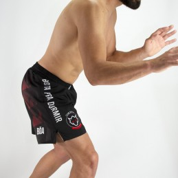 Pantalones cortos de lucha de Nogi Team Raposa