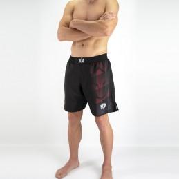 Shorts de luta da Nogi Team Raposa