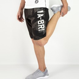 Sports shorts MA-8R - Black | for training