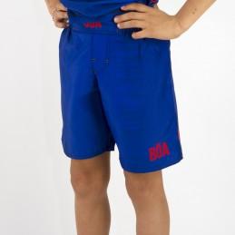 Shorts de luta Nogi Criança Mata Leão | para competições