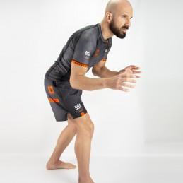 Luta Livre Short Sleeve Rashguard | training