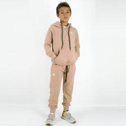 Esportes Kinder Trainingsanzug - Kamel | Strassenmode