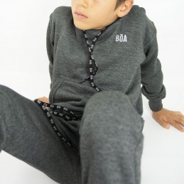 Esportes Kinder Trainingsanzug - Holzkohle | Sportbekleidung