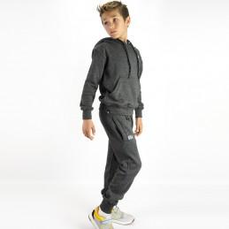 Esportes Kinder Trainingsanzug - Holzkohle | Strassenmode