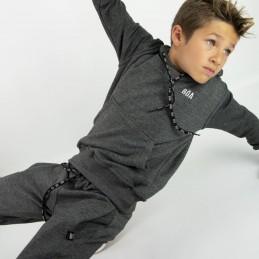 Esportes Kinder Trainingsanzug - Holzkohle | für Sport